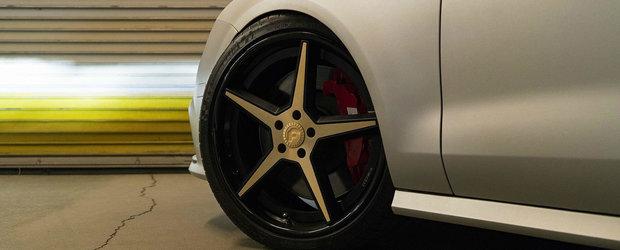 Atrage toate privirile cu Audi-ul sau S7. Numai jantele Forgiato l-au costat cateva mii bune de euro