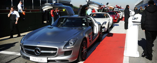 Attention, please: Toate SLS-urile AMG, aripile sus!