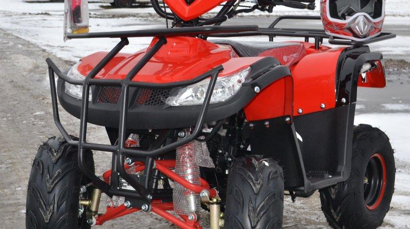 ATV 125cc NITRO T-REX,Automat D-N-R,Nou,Casca Bonus
