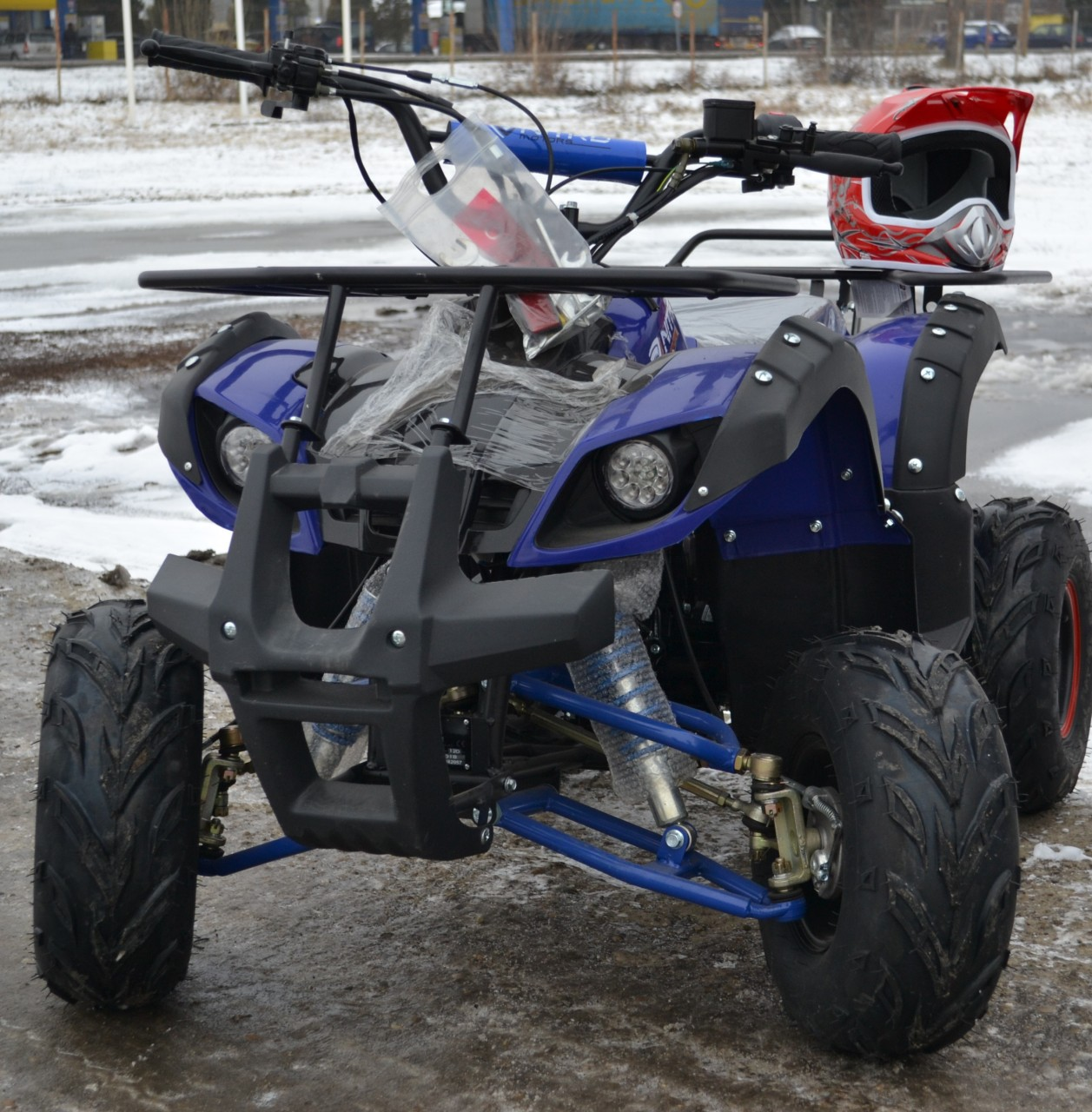 ATV 125cc NITRO TORINO,  Autoamtik Roti 7