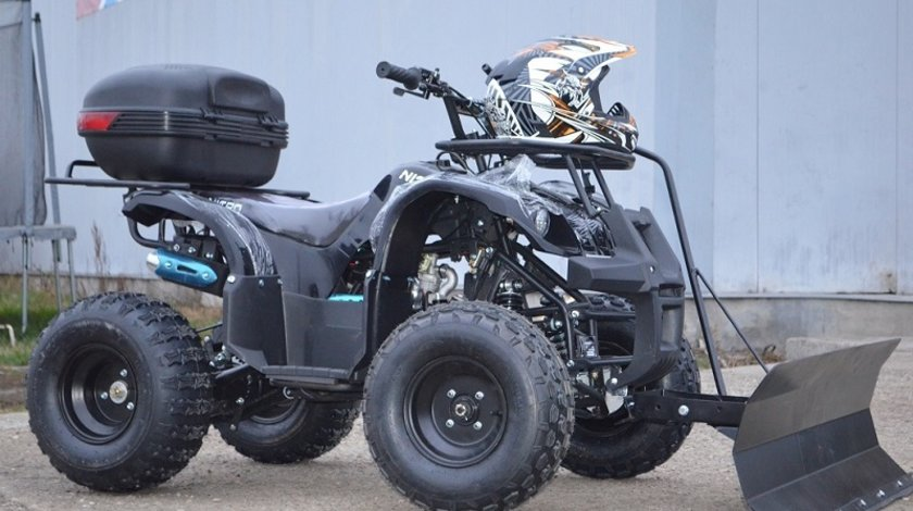 ATV 125cc NITRO TORINO Semiautomatik , 15cp, Casca bonus