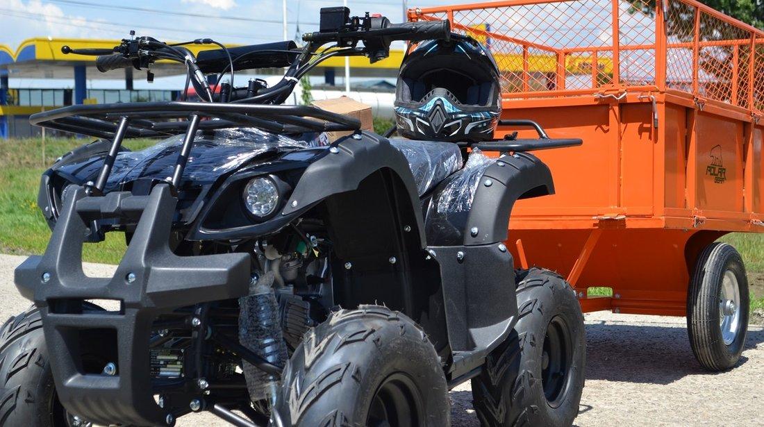 ATV 125cc NITRO TORONTO,  Autoamtik Roti 7