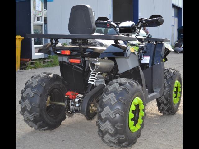 "Atv 180Cc Pro Rugby Turbo Sport Automat/Roti De 10"""
