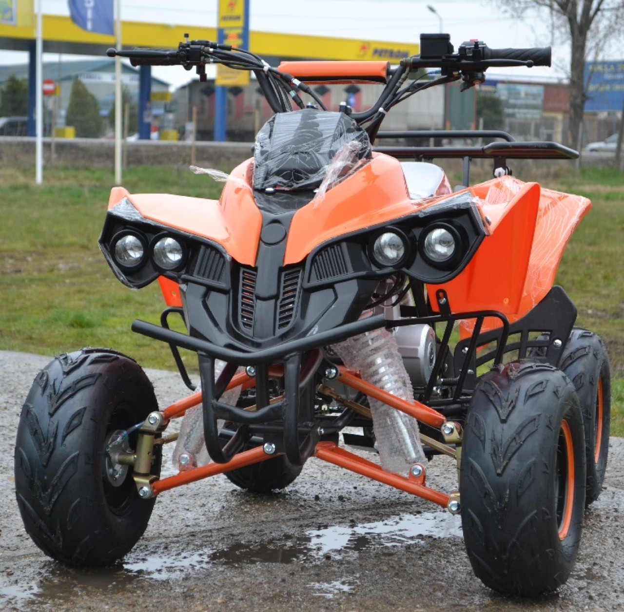 Atv 2019 New Model Warrior Kxd Motors Casca Bonus