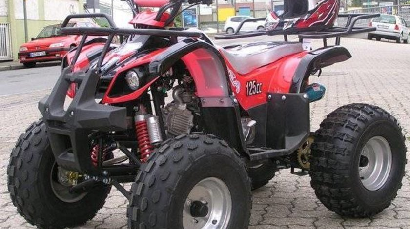 ATV 2w4 ReneGade 125cc NOU, Casca bonus Import Germania