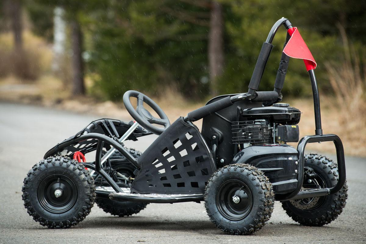 ATV 80cc NITRO Go Kart NOU, Casca Bonus