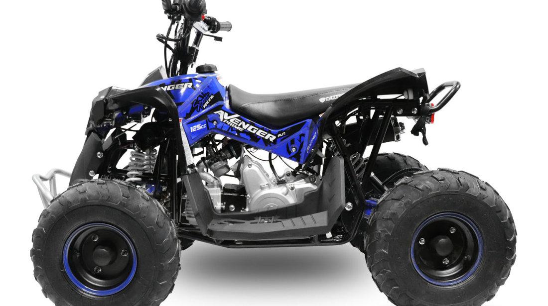 Atv Avenger Prime Deluxe 125cc Led