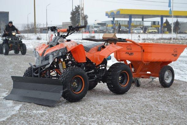 ATV Barossa Warrior 125cc Modelul S RG8