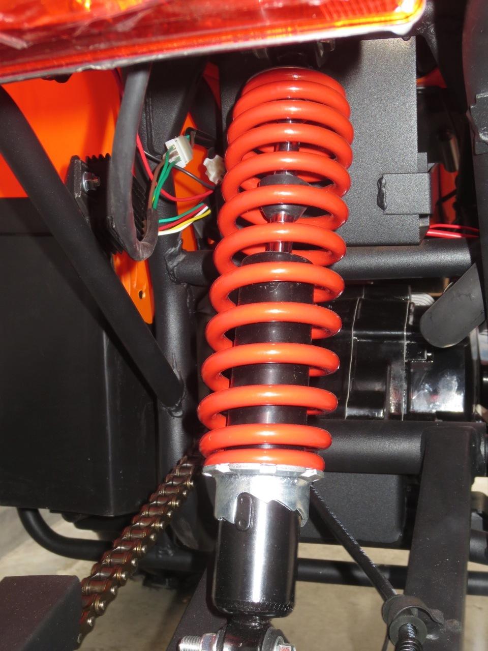 ATV BEMI NEW 125cc ReneGade Sasiu 150 J10'' cutie forza 3 trepte +Revers
