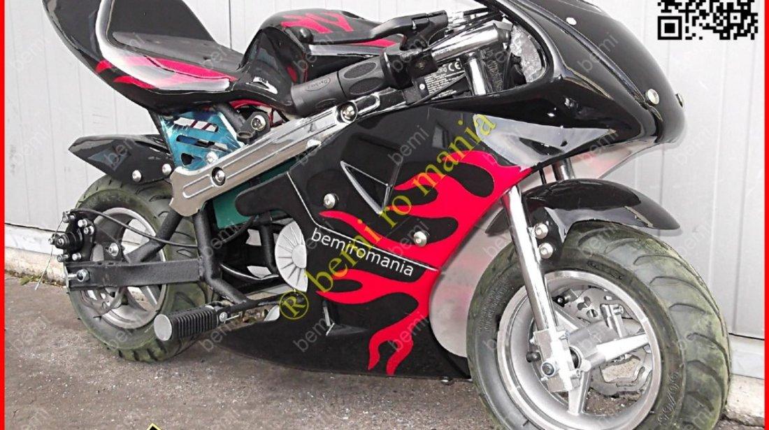 ATV BEMIRO e MOTO poket 0Km 245 euro cu livrare GRATIS