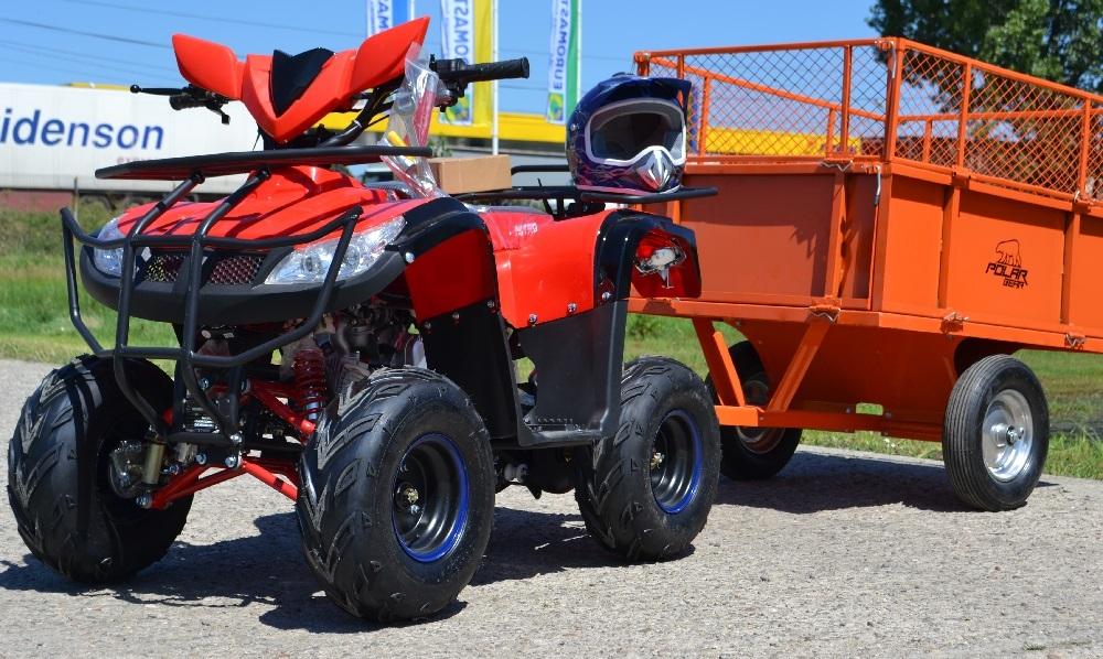 """ATV de vanzare Nitro 125cc T-REX RG7 """"Automat + Marsarier"""