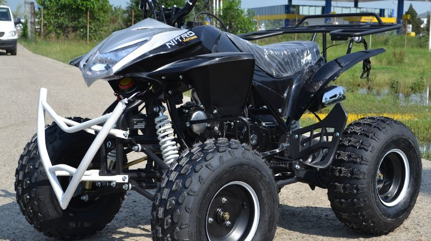 Atv Galaxy Alien Quad R8 125cc Black, Import Germania