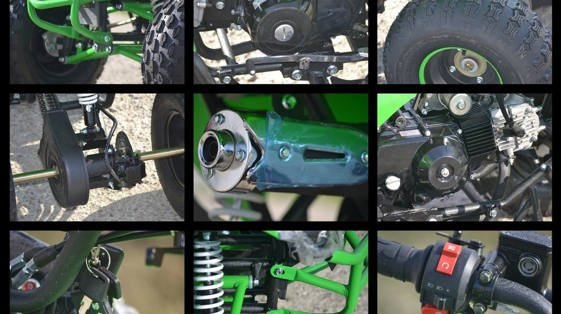 ATV HSUN  Warrior 125cc Modelul S RG8 Livrare rapida