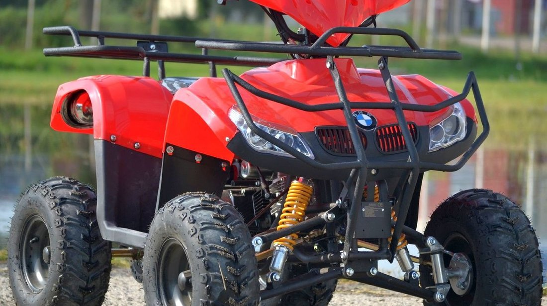 ATV Hummer BMW 125cc, Motor Yamaha 4 timpi