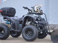 ATV Hurricane Grizzly 125cc, Motor licenta Yamaha