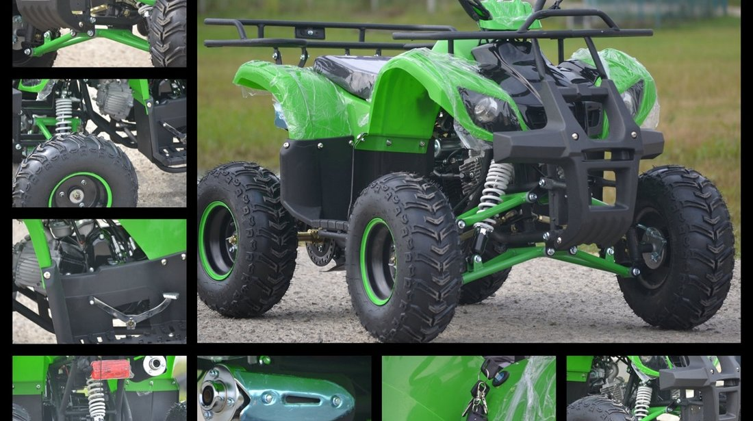 ATV Hurricane Hummer 125cc M7, Motor licenta Yamaha