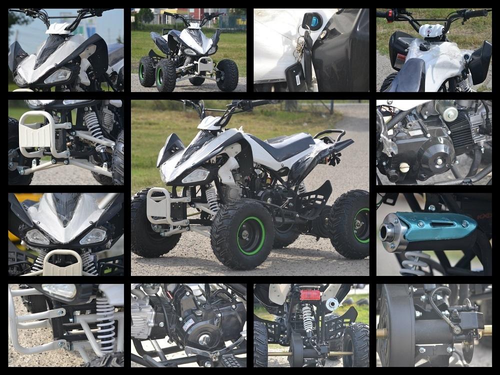 ATV Hurricane Raptor 125cc, Motor licenta Yamaha