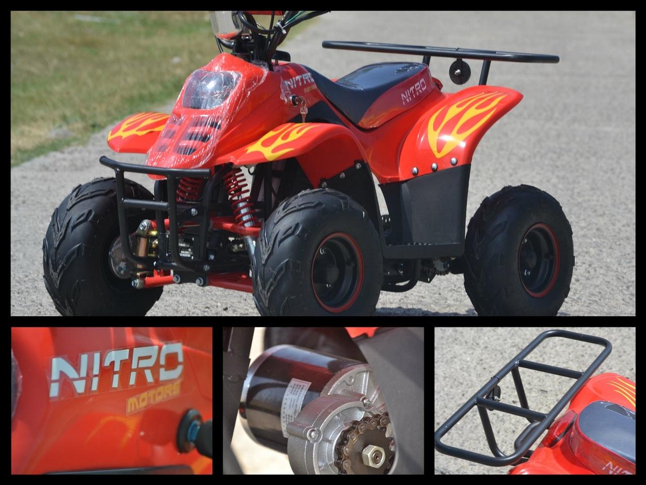 ATV Jumbo 800W ECO BIGFOOT | 36V | 12A | 6