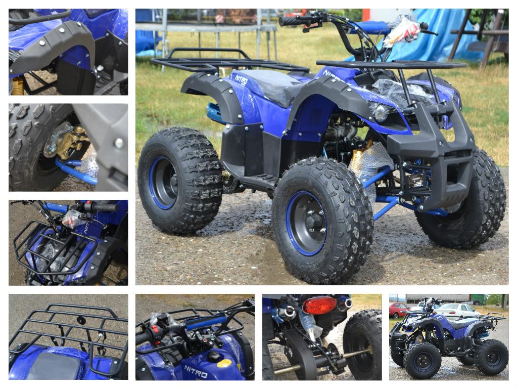 ATV KXD 125cc Grizzly Utility KXD-006 anvelope 8 Import Gemania