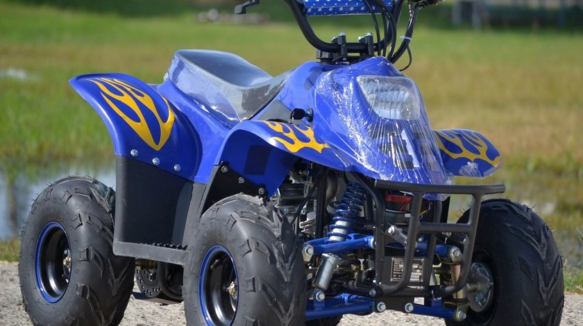 ATV KXD 125cc Panzer 001 anvelope 7 Import Gemania
