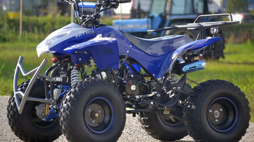 ATV KXD 125cc Quad KXD-004 anvelope 7 Import Gemania