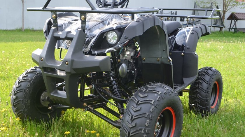 Atv Kxd Motors 125cc Hummer Spider Black