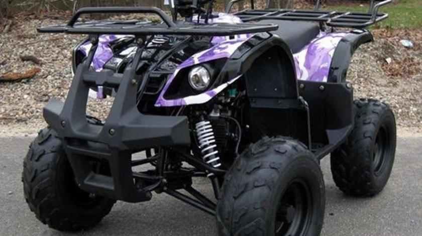 Atv Kxd Motors 125cc Hummer Spider Black