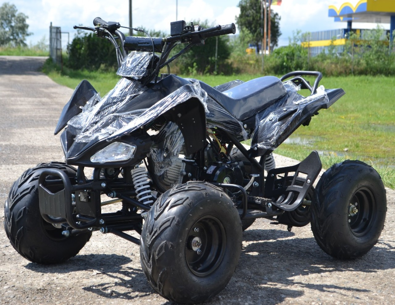ATV KXD SPEEDY 125cc Casca Bonus, Import Germania