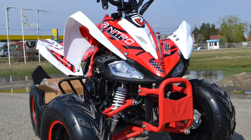 ATV Model:Speedy S7 Capacitate Motor 125 (Roti 7 inch)