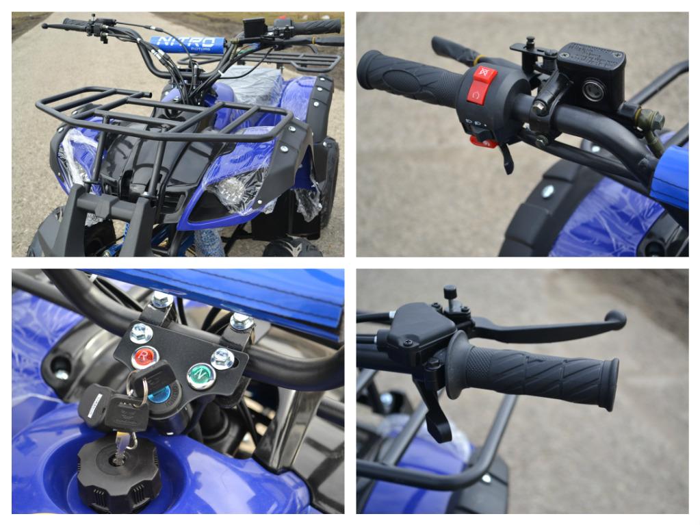 ATV Nitro 125cc Toronto RG7 NOU cu garantie , Import germania