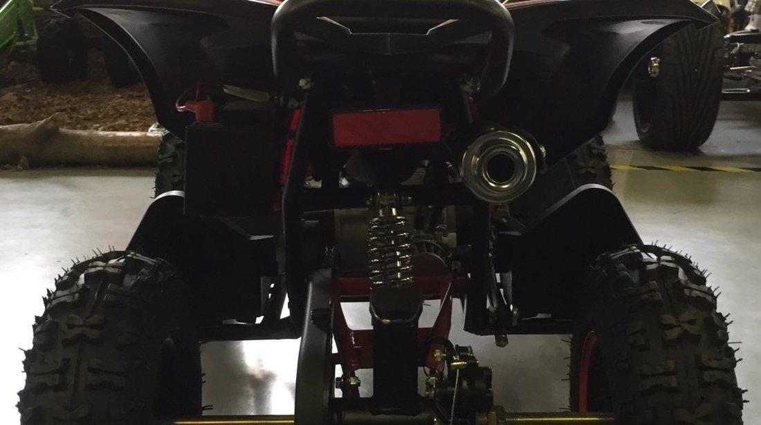 ATV Nitro 49cc Avenger Prime  6 Miniquad cu agatatoare de remorca