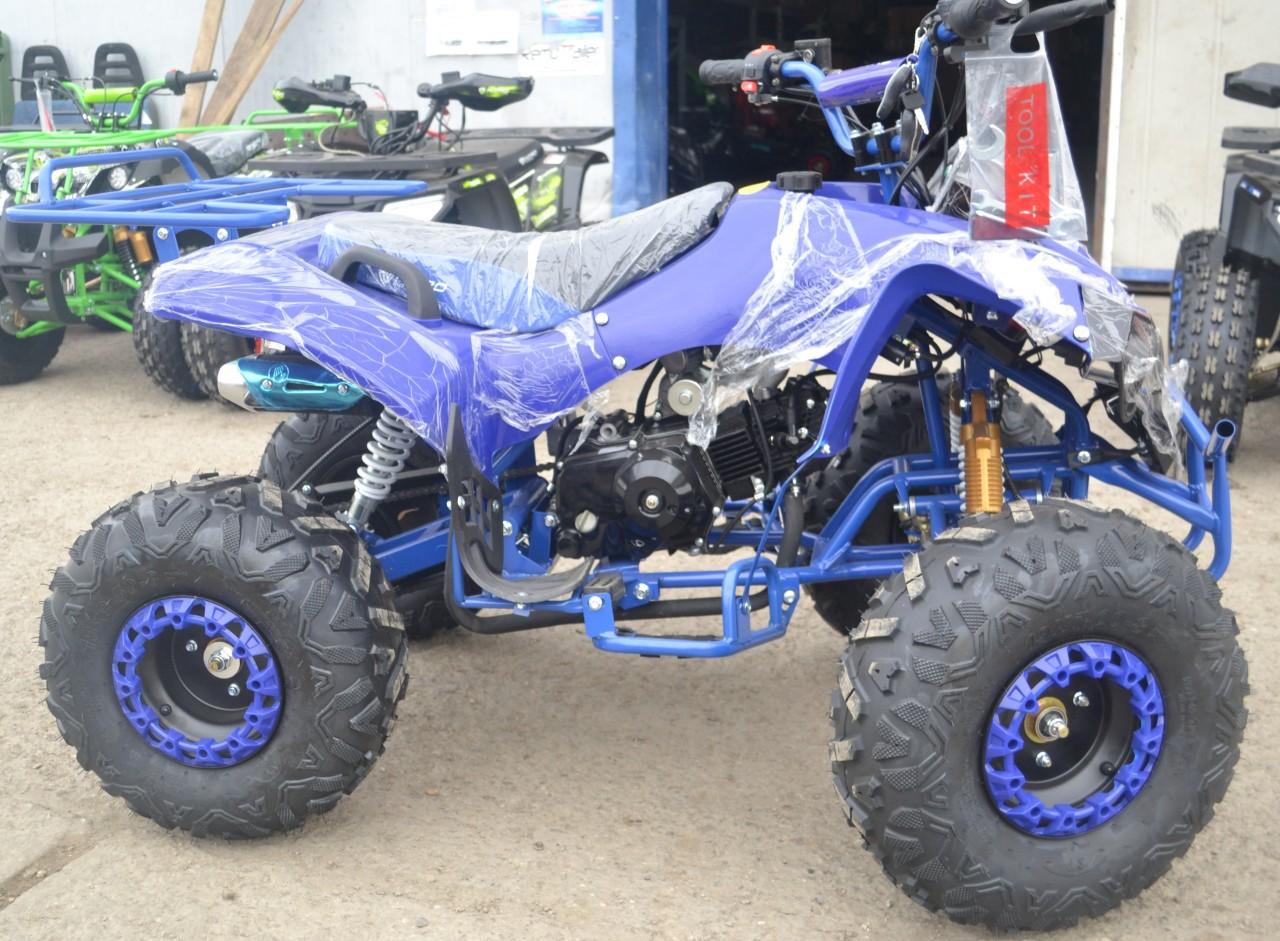 Atv Nitro Motors125cc Warrior XXL 3G8 Semi-Automat/Albastru