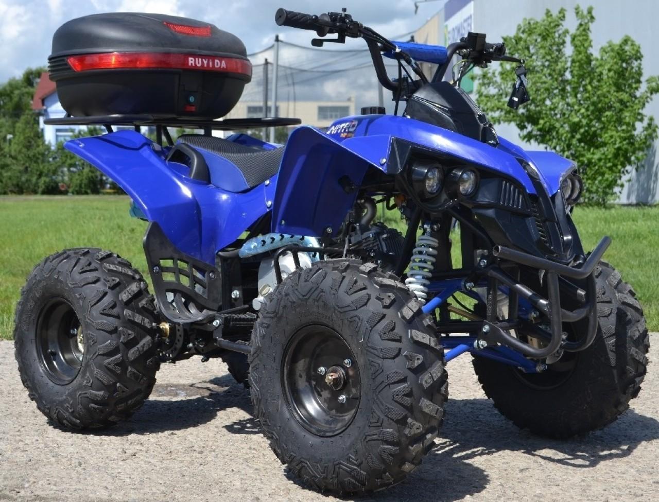 Atv Nitro Renegade Riders 125cc Deluxe New-2019