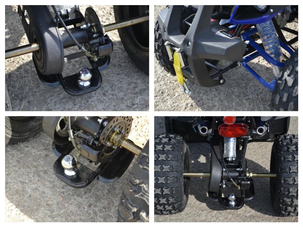 ATV Nitro Warrior 125cc , Casca Bonus, Import Germania
