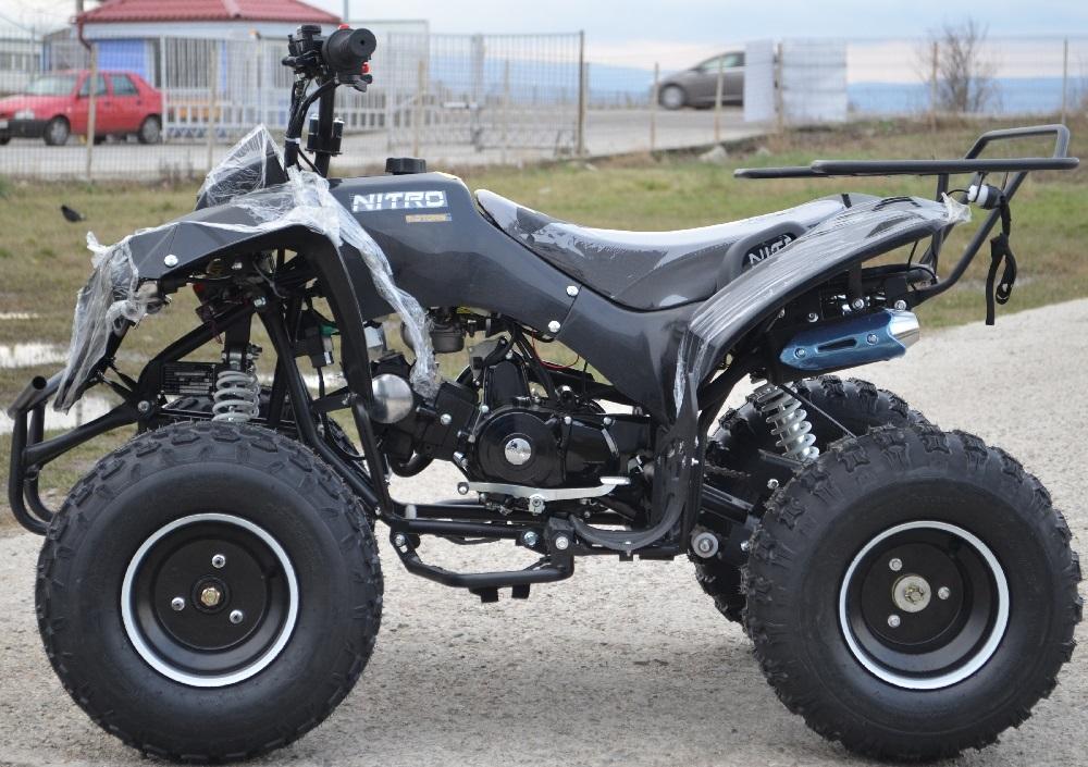 ATV Nitro Warrior 125cc Import Germania, Garantie