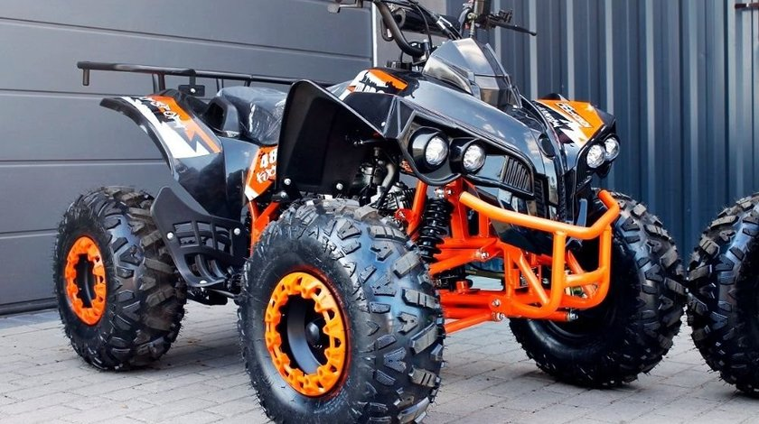 Atv Nitro Wheels Quad Warrior 125cc Semi-Automat Nou Garantie Si Bonus