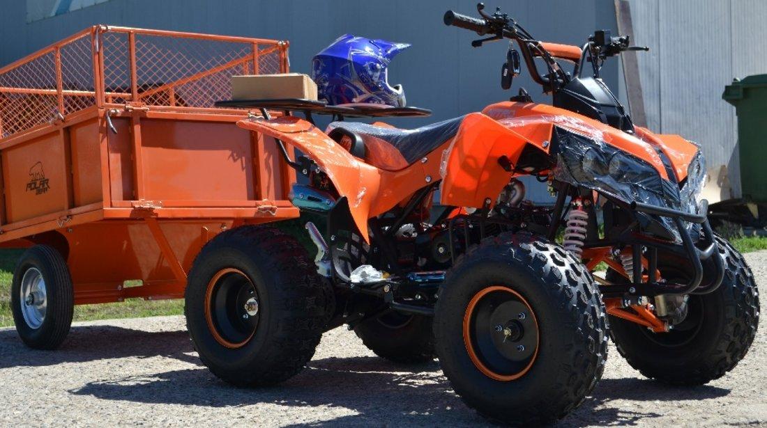 Atv Nou In Stoc Bashan 125cc Warrior Cu Pe Roti 7/Inch  8/Inch