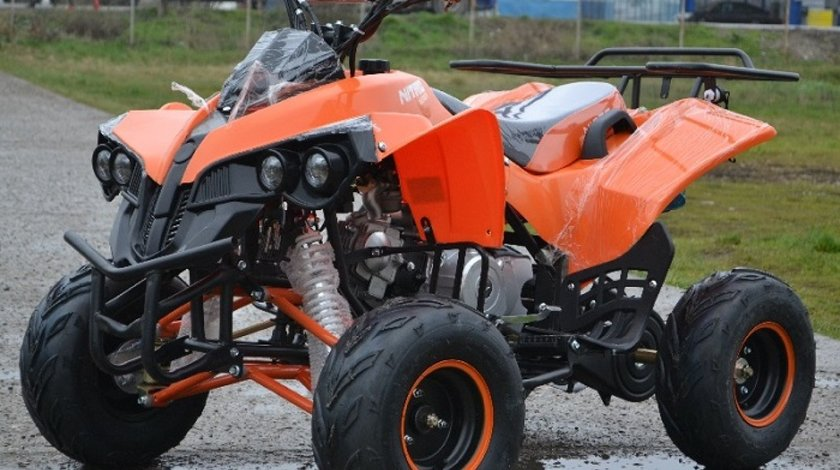 Atv Nou Model:Warrior 125cmc AllRoad+Casca Bonus