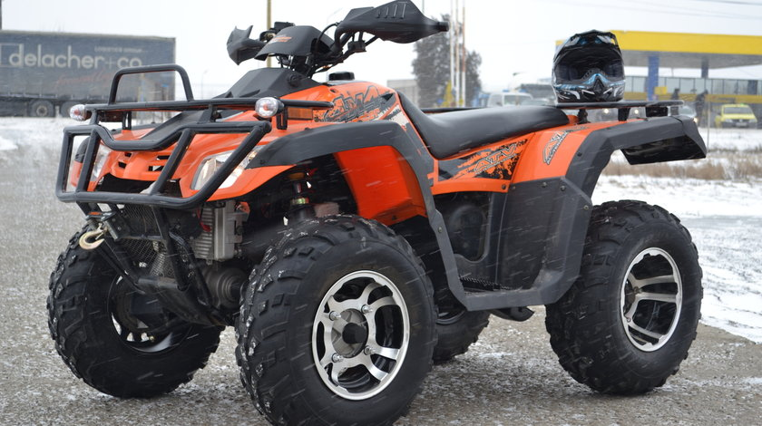ATV Road Legal Hunter  300-S2 / 4X4 / WINCH / 4x suspensie