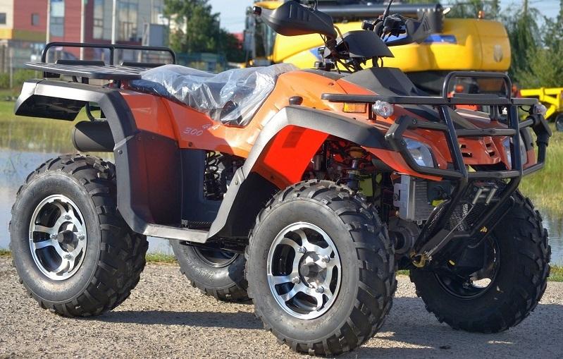 ATV Road Legal Hunter  300-S2 / 4X4 / WINCH