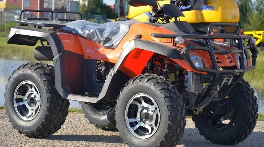 ATV Road Legal Hunter  300-S2 / 4X4 / WINCH