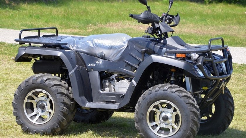 ATV RoadLegal Hunter 550-SXL / 4X4 / WINCH / 4x suspensie