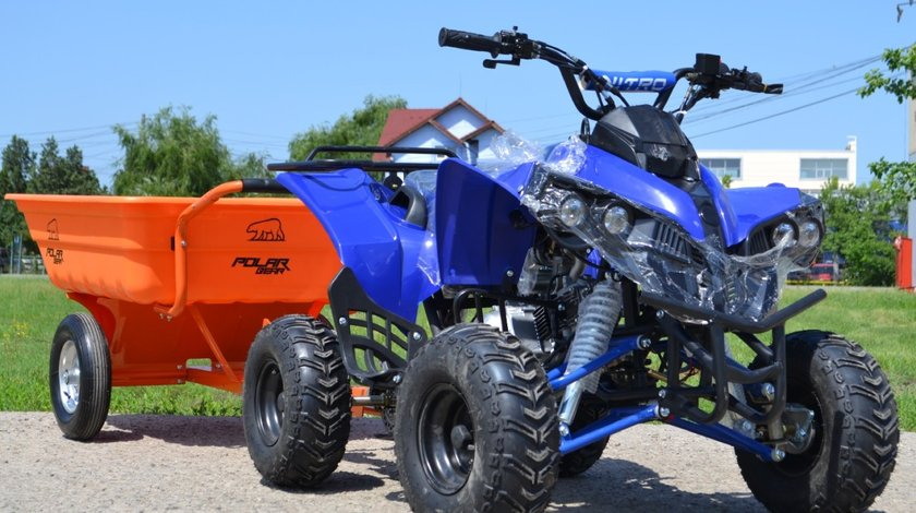 ATV Suiside Warrior 125cc Casca Bonus