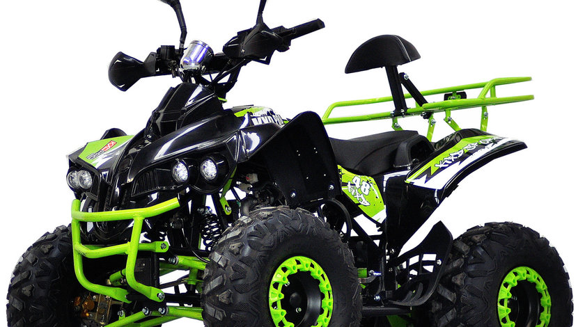 Atv Warrior Green Lemon OffRoad Deluxe 125cmc