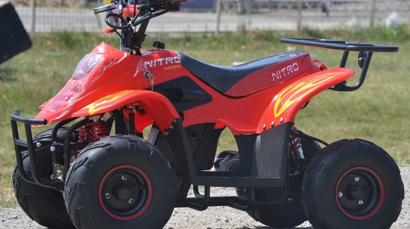 ATV Yamaha  800W ECO BIGFOOT | 36V | 12A Casca Bonus