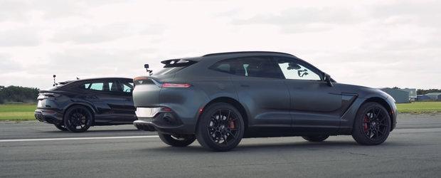 Au adus la start cele mai exotice SUV-uri ale momentului. Liniuta cu Aston Martin DBX si Lamborghini Urus