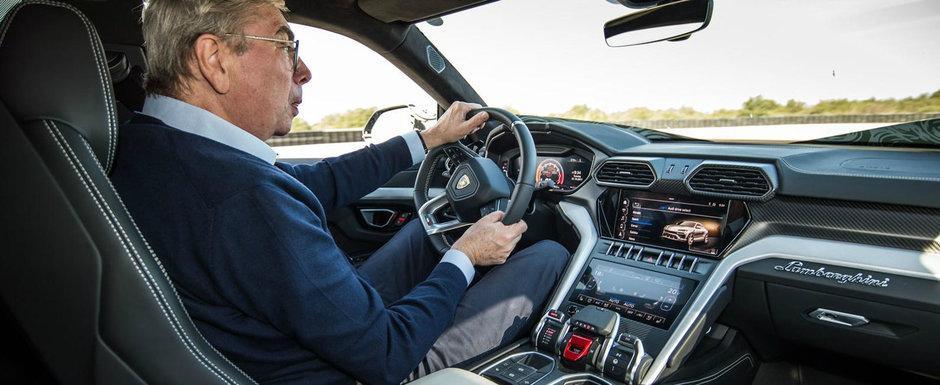 Au ajuns pe internet mai devreme cu o saptamana. Uite primele imagini oficiale cu noul Lamborghini Urus!