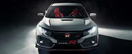 Au aparut deja primele imagini oficiale. Cum arata noua Honda Civic Type R