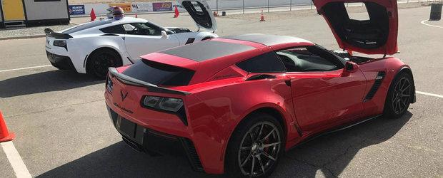 Au aparut primele imagini reale cu versiunea shooting brake a noului Corvette