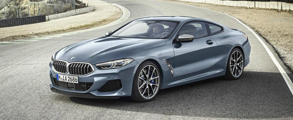 Au asteptat aproape 20 ani ca sa il lanseze pe piata. Acesta este noul BMW Seria 8!